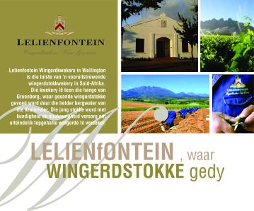 Lelienfontein Wynland 2009